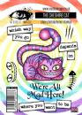 Visible Image Clear Stamp Set - Wonderland - The Cheshire Cat